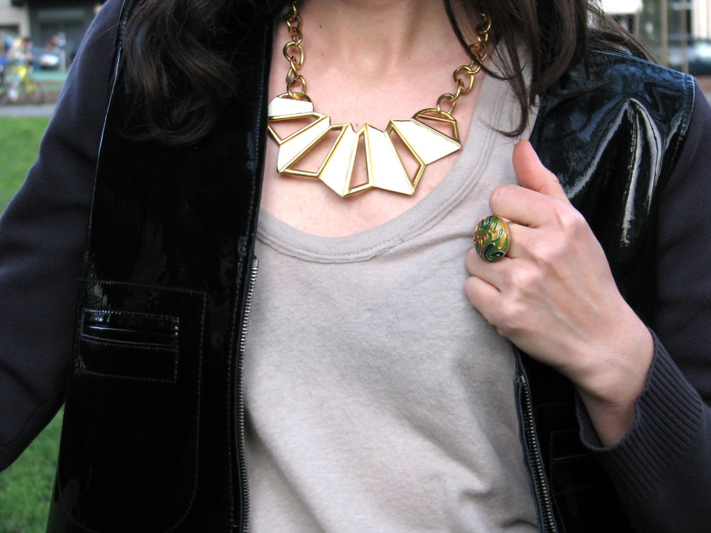 Necklace: Sasha Maks Vintage