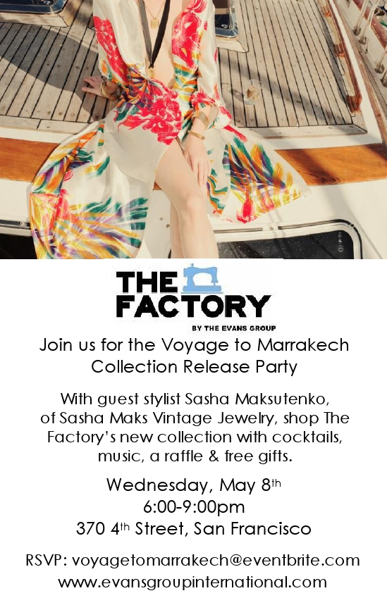 The Factory Spring collection event and Sasha Maks Vintage