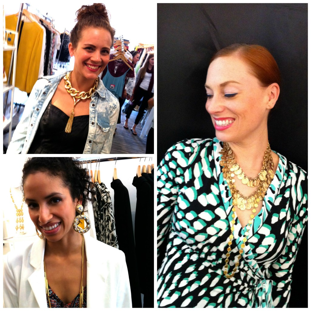 SF and Bay Area Fashion Bloggers at Sasha Maks Vintage Pop-Up