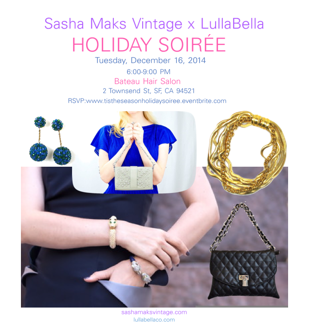 Sasha Maks Vintage x LullaBela Holiday Soiree