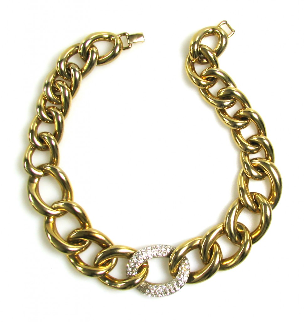 Sasha Maks Vintage Curb Link Necklace