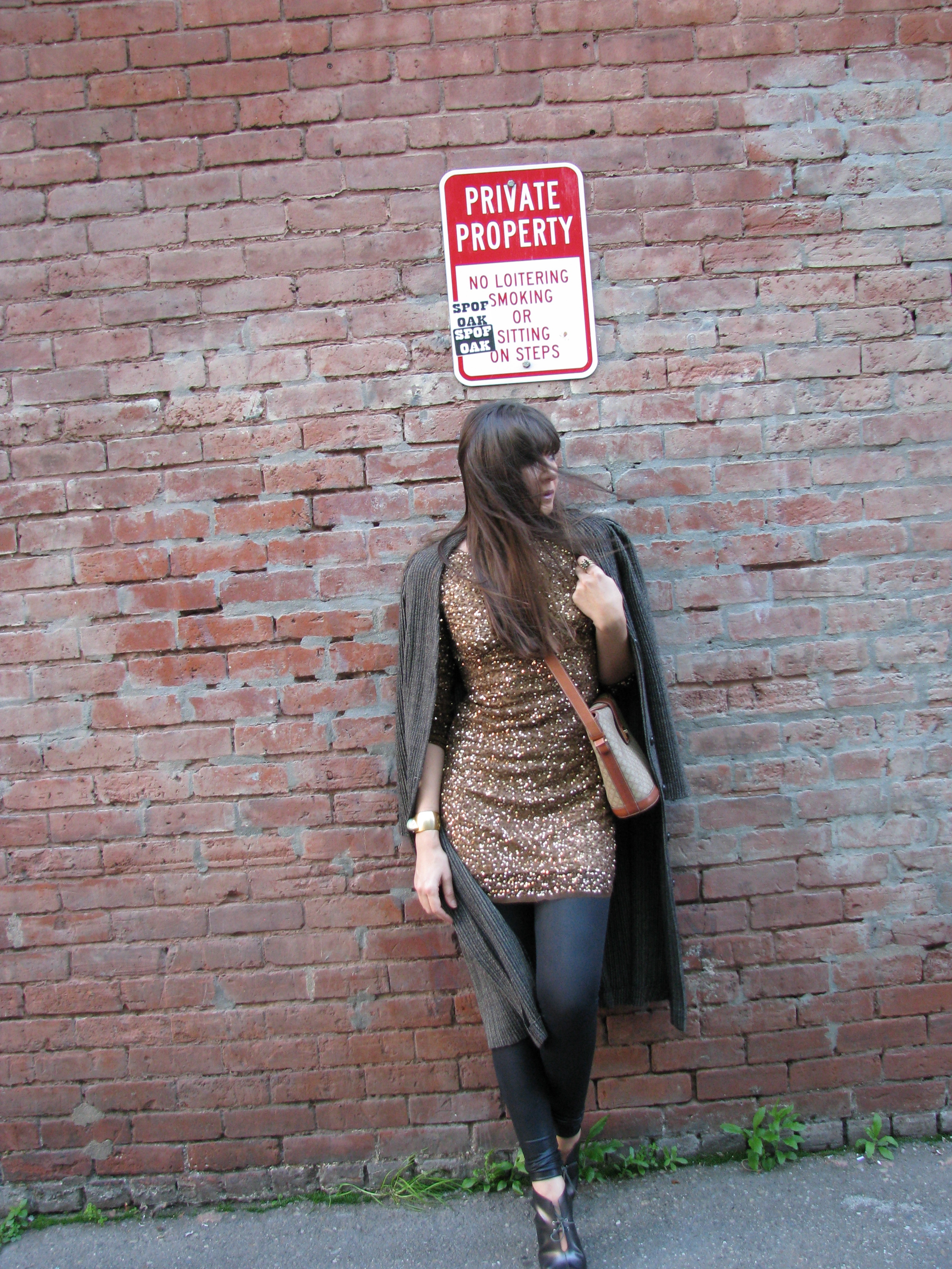 Sequin dress for day