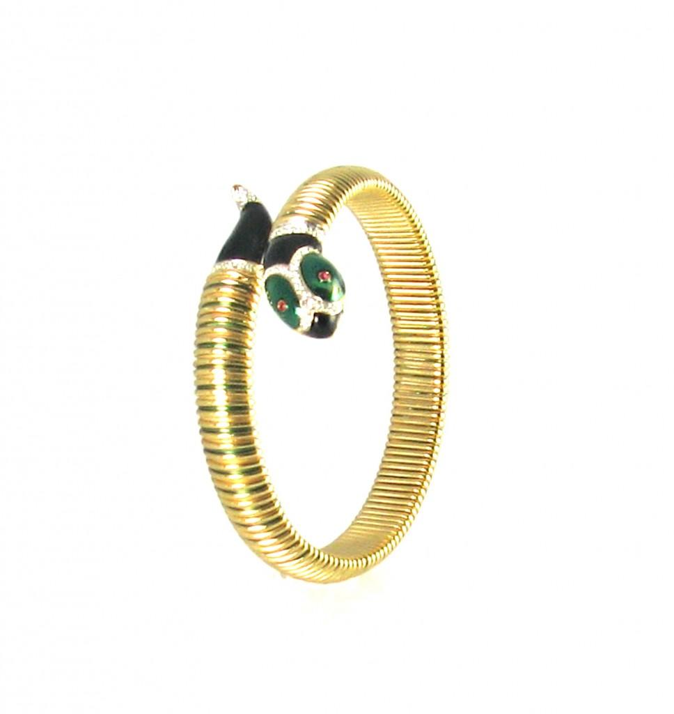 Sasha Maks Vintage Snake Bracelet