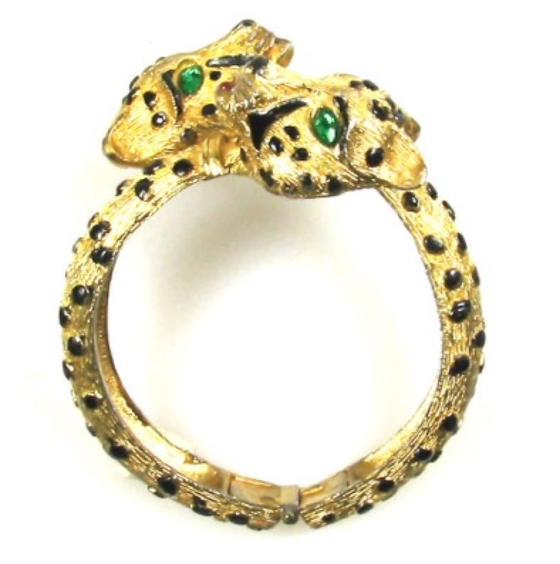 Leopard Bypass Bracelet