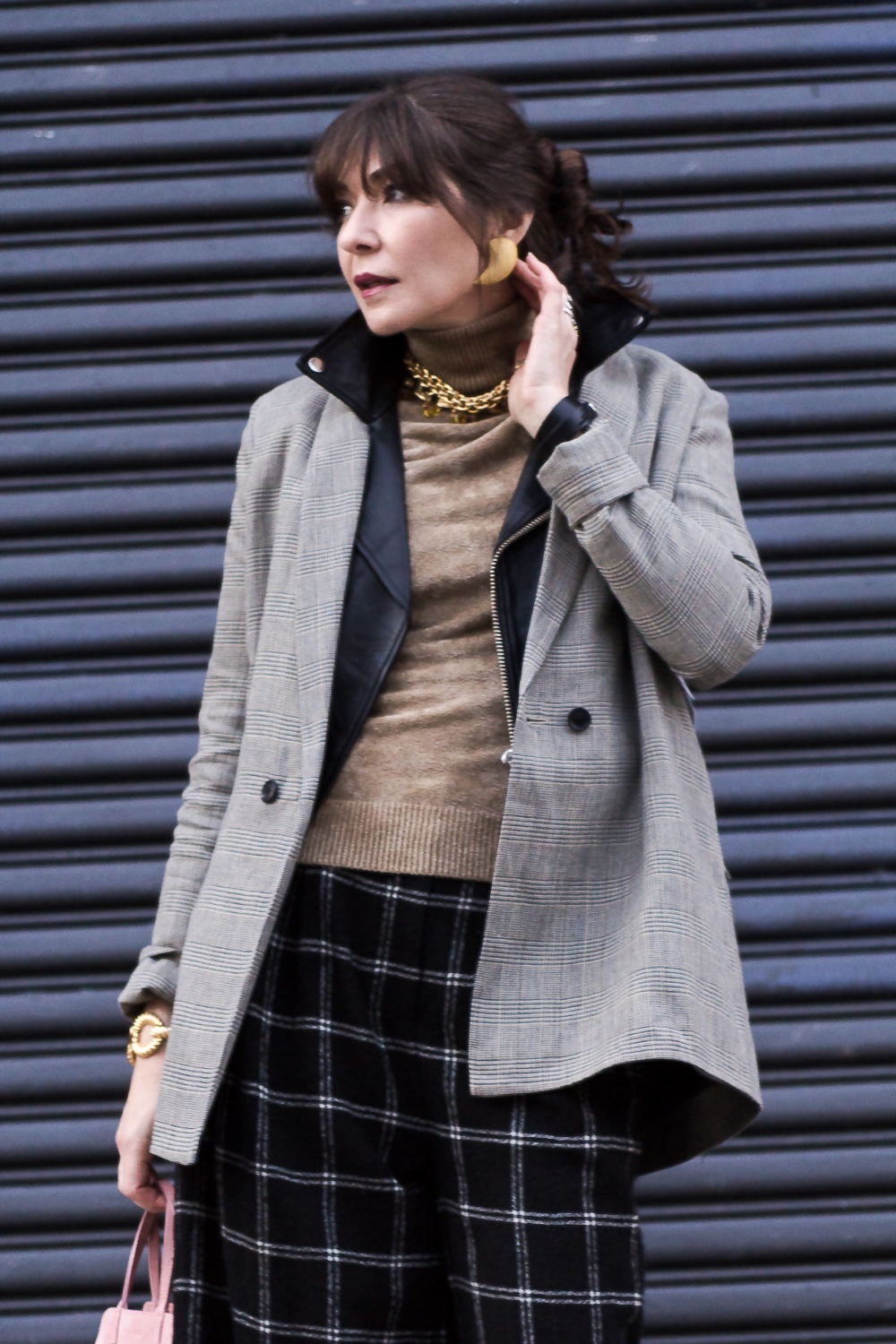 How to layer two jackets