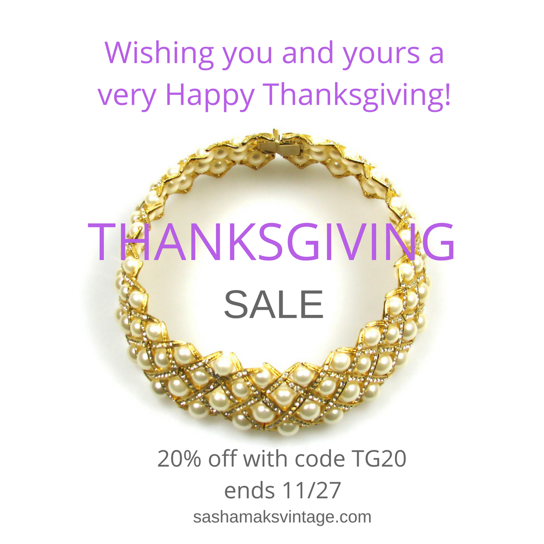 Thanksgiving Jewelry Sale coupon code