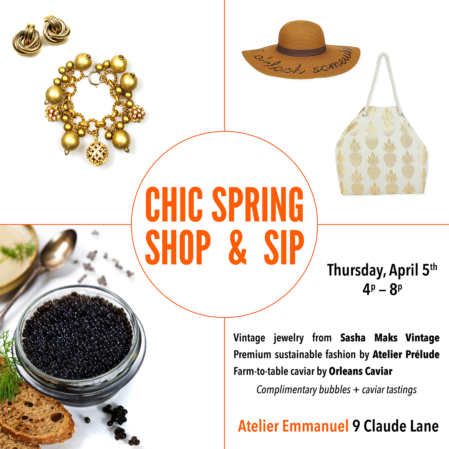 Chic Spring Popup 2018mar