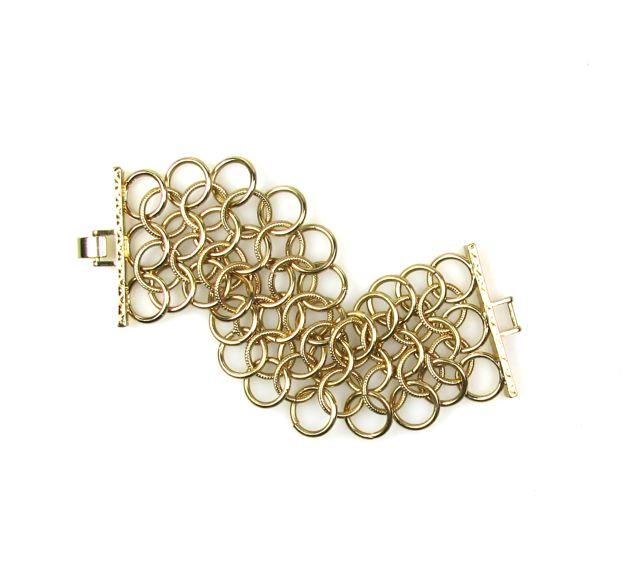 Linked Ring Bracelet 1960s
