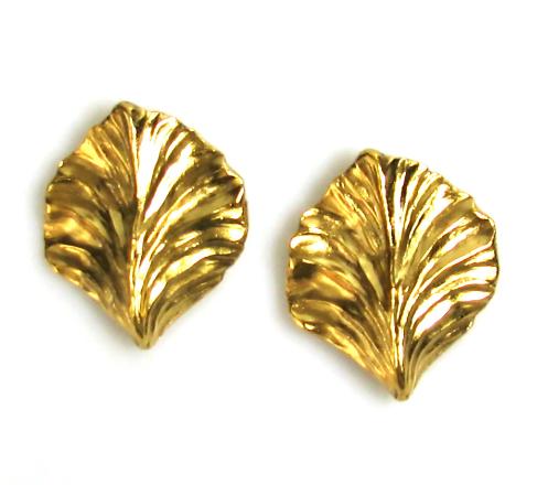 Robert Goossens Leaf Earrings