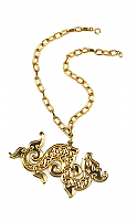 Napier Golden Dragon Necklace 1960/70s