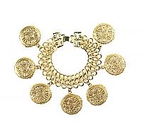 Kenneth Lane Zodiac Charm Bracelet 1990s